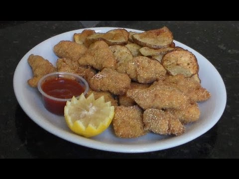 Deep Fried Alligator Nuggets -