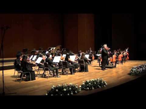 Mozart, Adagio for violin and orchestra in E, K. 261