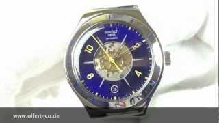 Swatch Irony Midday Sun Automatik YAS409G www.olfert.co