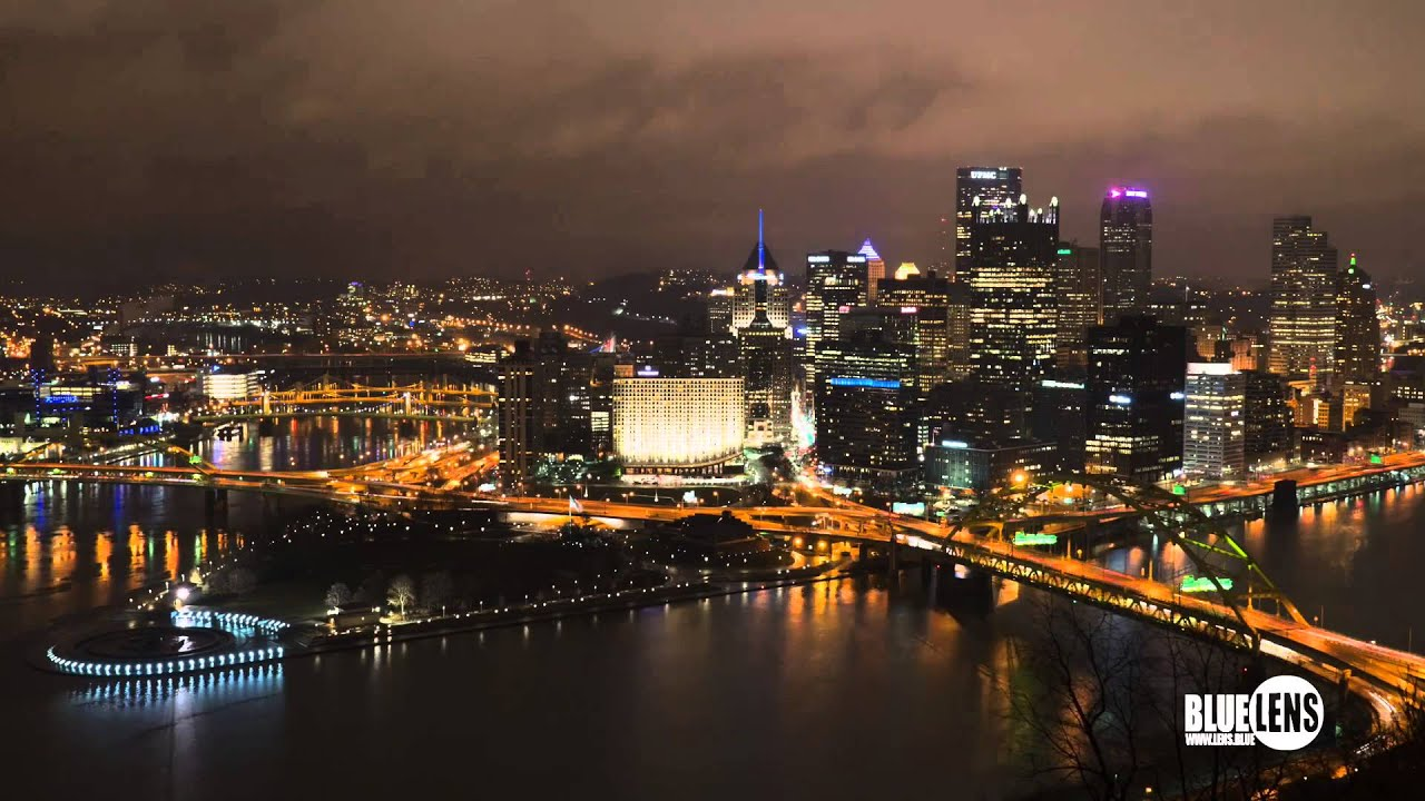 pittsburgh night time lapse youtube. Black Bedroom Furniture Sets. Home Design Ideas