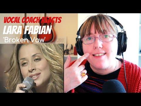 Vocal Coach Reacts To Lara Fabian 'Broken Vow'