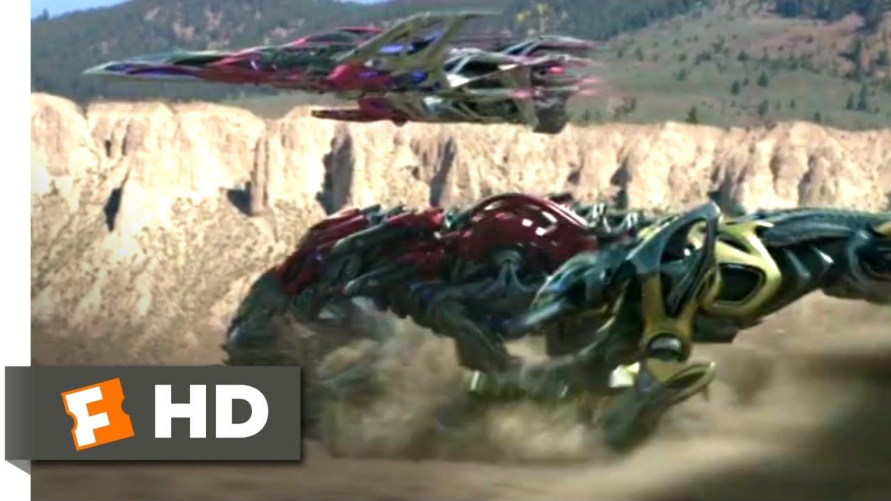 Download Power Rangers (2017) - Go, Go, Power Rangers! Scene (6/10) | Movieclips