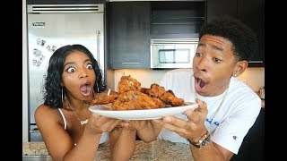 failzoom.com - COOKING WITH DK4L | HOW TO MAKE THE BEST FRIED CHICKEN EVER