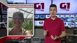 Gizele Thame no G1 em 1 minuto - Santos