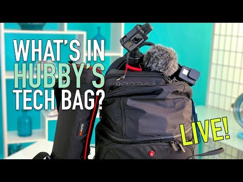 What's In Our Cruise Camera Bag