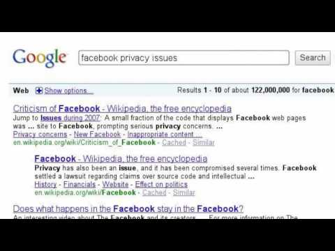 facebook privacy issues My secret account is now not so private after facebook updated its search engine without warning facebook is chipping away at privacy.