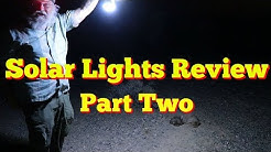 7 Solar Lights Compared and Reviewed