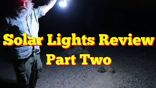 7 Solar Lights Comṗared and Reviewed