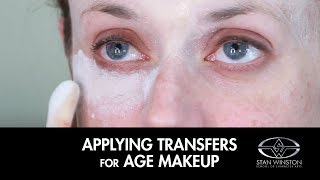 Age Makeup - How to Apply Prosthetic Transfers with Bill Corso