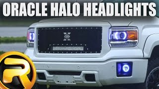 How to Install Oracle LED Headlight Halo Kit Color Shift(Oracle LED Headlight Halo Kit: ..., 2015-06-04T18:58:38.000Z)