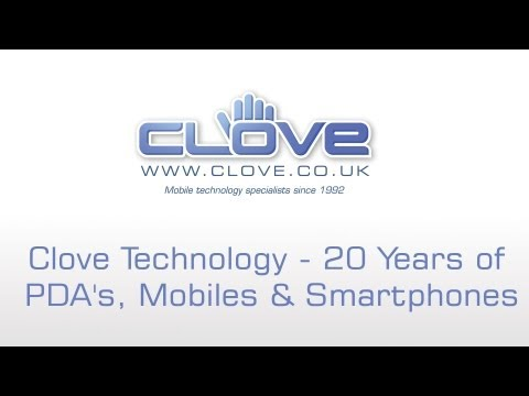 Tell us your first PDA or smartphone to win #clove20 (Competition 4)