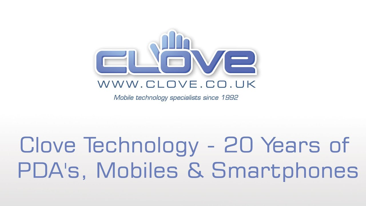 Tell us your first PDA or smartphone to win #clove20