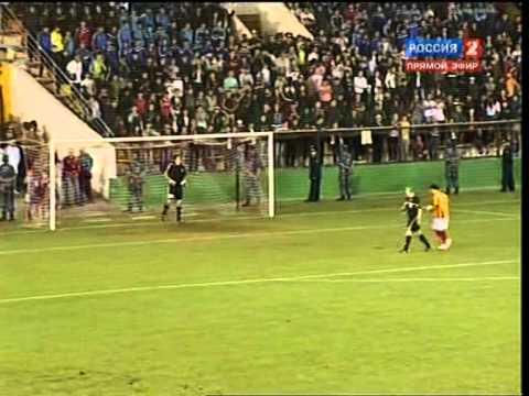 Актобе - Алания пенальти 04/08/2011 Лига Европы