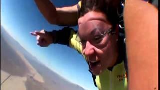 Kayla Extreme Skydiving Las Vegas