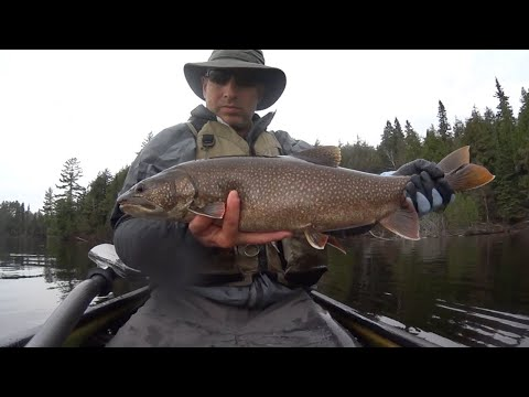 Algonquin Park Solo 6 Day Canoe Camp Fishing Trip May 2015