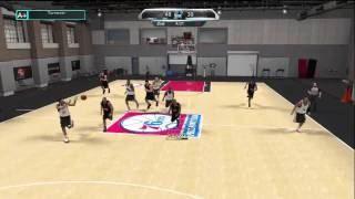 NBA 2K10 - My Player - Training Camp Game 4