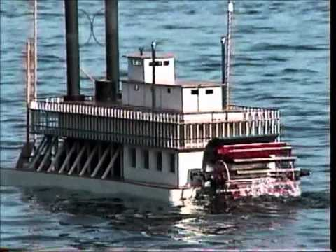 how to build a steam boat