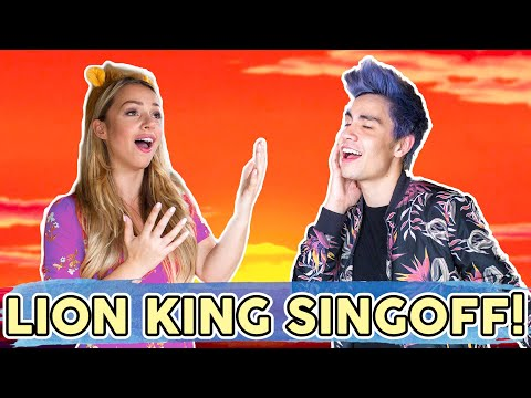The LION KING SING-OFF! ft. Emma Heesters, Sam Tsui, Casey Breves
