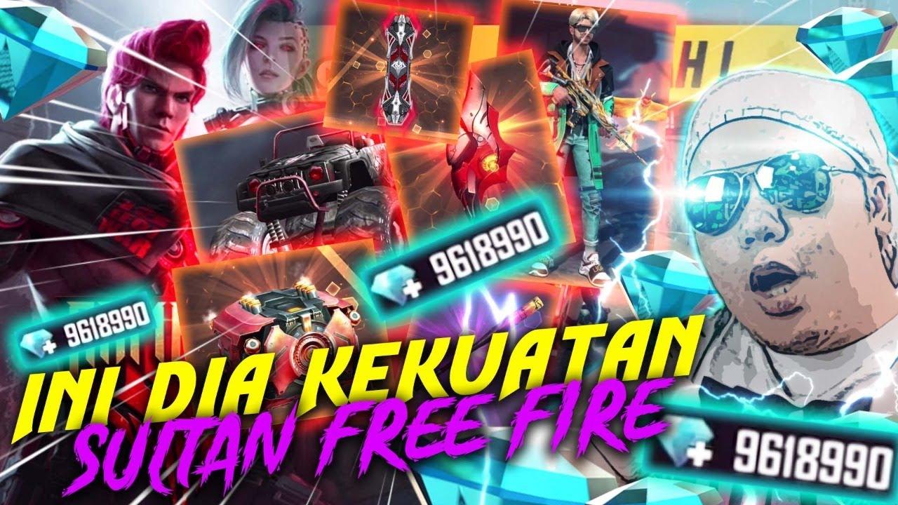 Download SULTAN FREE FIRE NGABISIN 10.000.000 DIAMOND TANPA RAGU!!