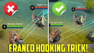 Franco's Hooking Trick to Increase you Hook Hit Rate! | Mobile Legends - Tips & Tricks | MLBB