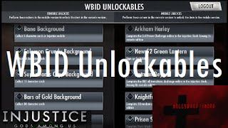 Repeat youtube video Injustice Gods Among Us iOS WBID Unlockables