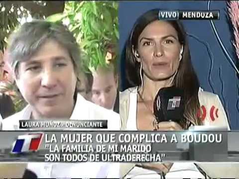"""LAURA MUÑOZ - """"MI EX ESPOSO ES SOCIO Y TESTAFERRO DE AMADO BOUDOU"""" TN 08-02-12"""