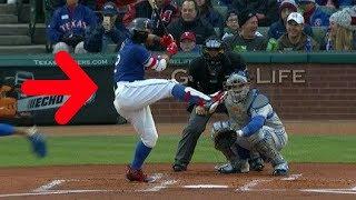 MLB Huge Leg Kicks (HD)