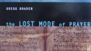 gregg braden the lost mode of prayer 2