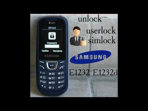 unlock samsung e1232 e1232d simlock userlock via z3x box gsmservicearmenia