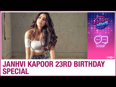 Janhvi Kapoor 23rd Birthday Special Janhvi S Resemblance With