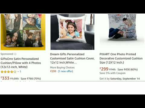 Own Photo Pillow | Best Personalized Gifts | Online Shopping