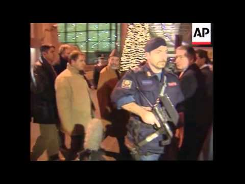Afghanistan interim leader arrives ahead of talks with exiled king