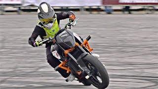 Стант на KTM 690 Duke