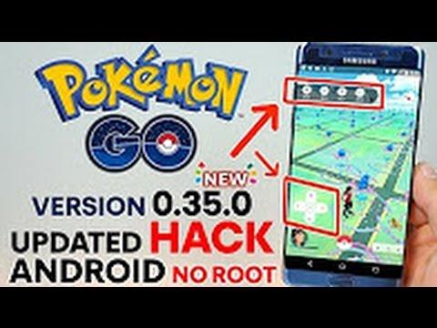 POKEMON GO 0.35.0 HACK *ANDROID NO ROOT* TELEPORT ! FAKE LOCATION ! JOYSTICK ! CATCH ANY POKEMON