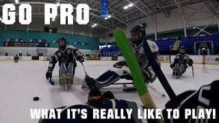Go Pro: what it's like to play para ice hockey