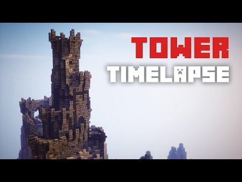 Minecraft Timelapse - Medieval Tower [ +Download ]