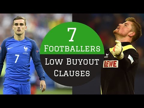 7 Footballers With LOW Buyout Clauses