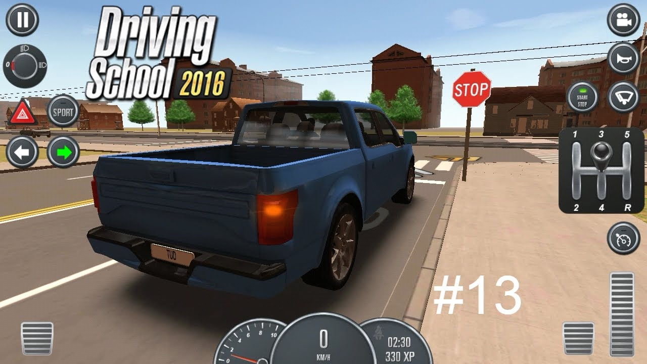 Driving School 2016/ Gameplay/ Episode #13 (Realism) - YouTube