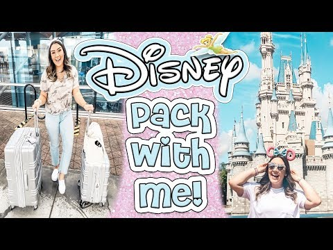 PACK WITH ME FOR DISNEYWORLD FLORIDA | WHAT I WORE TO DISNEY