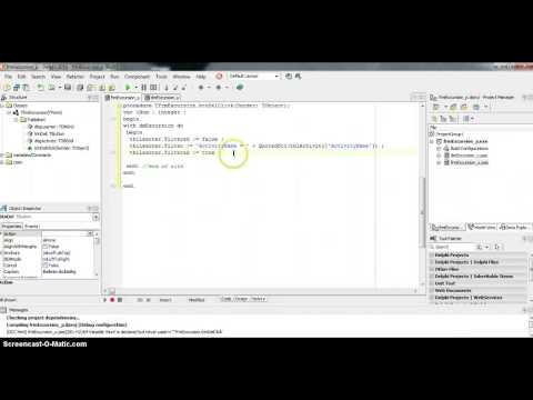 Deleting a Record in Multi-tabled DB via Delphi