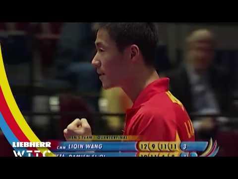Wang Liquin Vs Damien El Oi   2006 World Table Tennis Championships (MT QF)