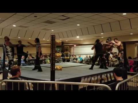 Wrestlepro: highlights  taboo crew vs apple corps