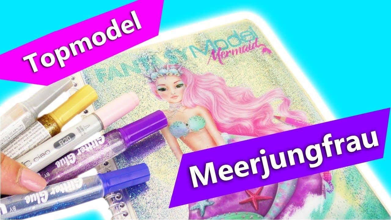 topmodel malvorlagen mermaiddepesche  coloring and
