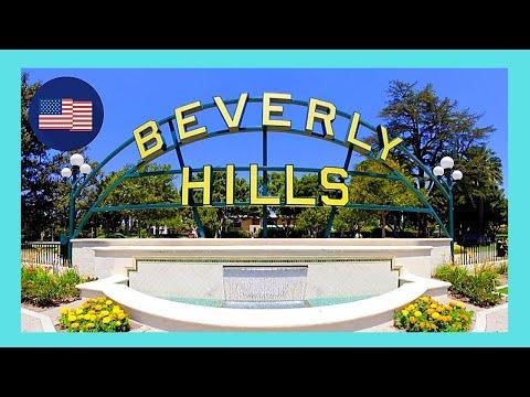 BEVERLY HILLS, walking through the famous neighbourhood, CALIFORNIA (USA)