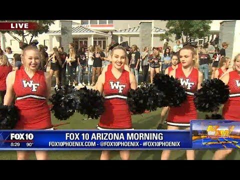 FOX 10 visits Williams Field High School