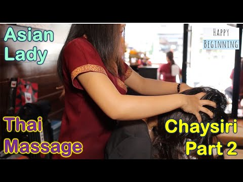 Thai Foot Massage ASIAN LADY - Chaysiri (Bangkok, Thailand) Part 2