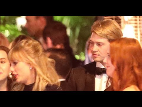 Lovers! Taylor Swift and Joe Alwyn Hold Hands at Golden Globes ...