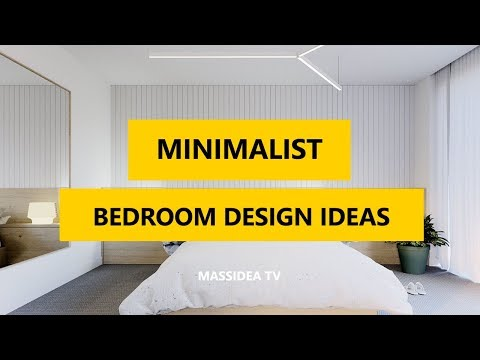 45+ Awesome Minimalist Bedroom Design Ideas 2018
