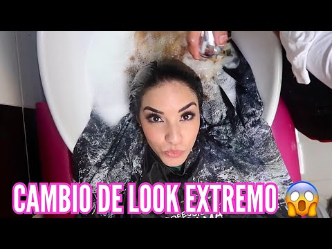 ME PINTO EL CABELLO POR PRIMERA VEZ (RUBIA) Kimberly Loaiza