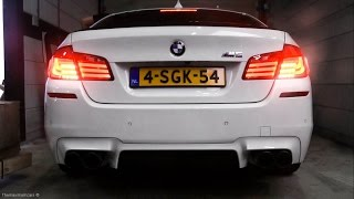 BMW M5 F10 w/ Akrapovic Exhaust - LOUD Revs & Accelerations!